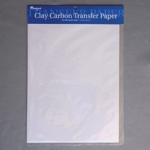 Mayco Clay Carbon Paper - 12 Pk