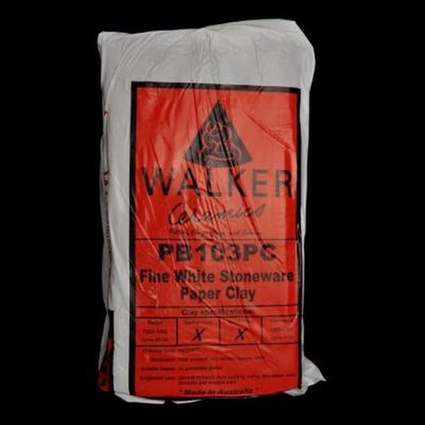 Walker Ceramics PB103 Stoneware Paper Clay (103PC)