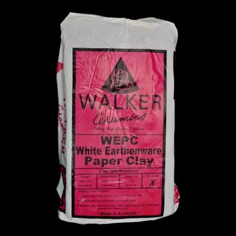 Walker Ceramics White Earthenware Paper Clay (WEPC)