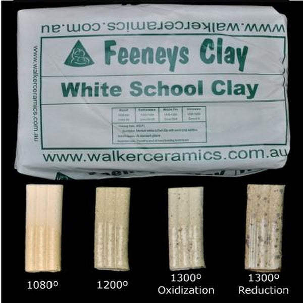 Walker Ceramics White School Clay