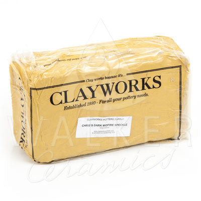 Clayworks Chris' Dark Midfire Speckle Clay