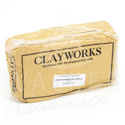 Clayworks Warm Midfire Speckle Clay