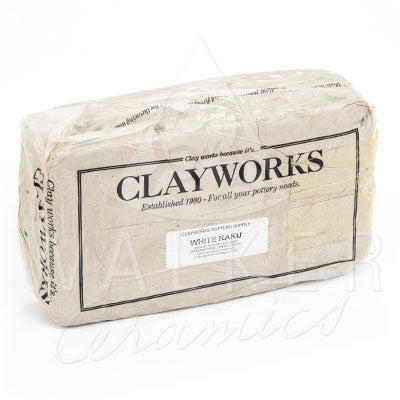 Clayworks Raku White Clay