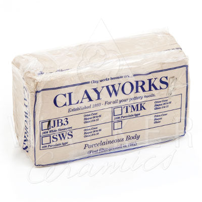 Clayworks Fine White Stoneware Clay