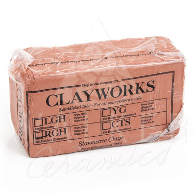 Clayworks Red Stoneware Clay