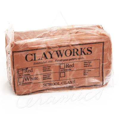 Clayworks School Red Clay