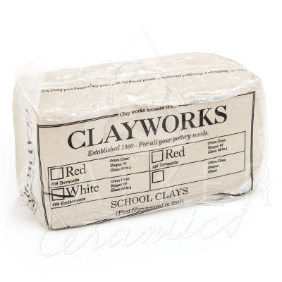 Clayworks School White Clay