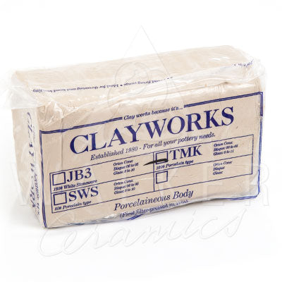 Clayworks Porcelain Type Body Clay