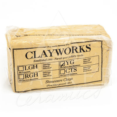 Clayworks Yellow Stoneware Clay
