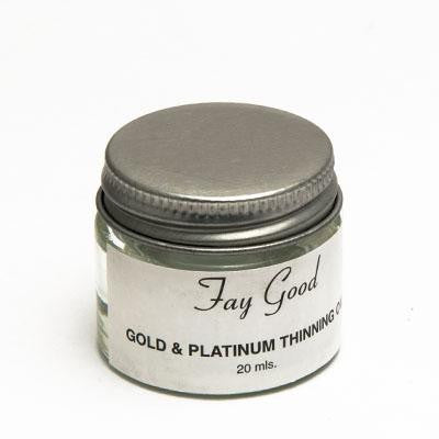 Walker Ceramics Gold/Platinum Lustre Thinner 20mL