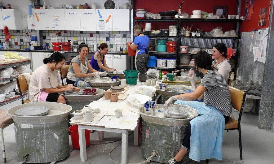 Learn pottery melbourne