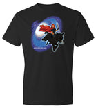 RED RYDER CHARACTER SHIRT Black