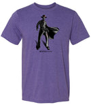 DEAD EYE Character Shirt On Heather Purple