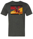 DRAGON RIDER FEATURE PRESENTATION on Heather Dark Grey Shirt