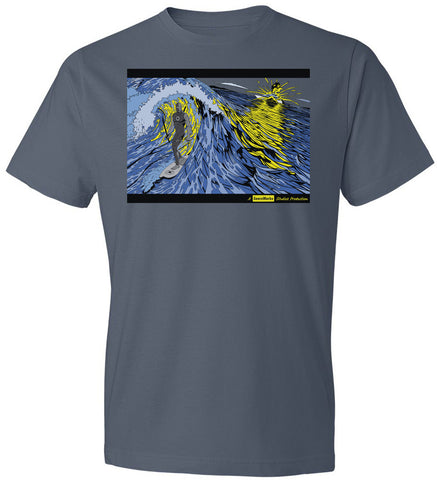 SIREN CHARACTER SHIRT on Caribbean Blue