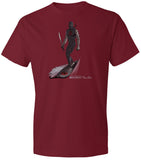 Ninja Surfer Character Shirt Independence Red