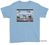 SIREN FEATURE PRESENTATION SHIRT YOUTH on Light Blue
