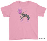 SIREN CHARACTER YOUTH SHIRT on Pink