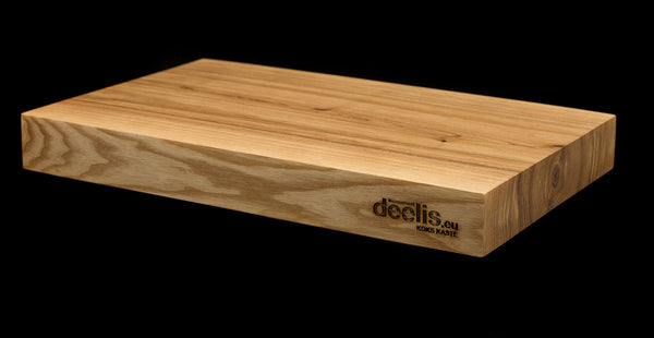 Ash tree cutting board with coating of your choice