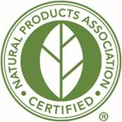 Natural Products Association Certified
