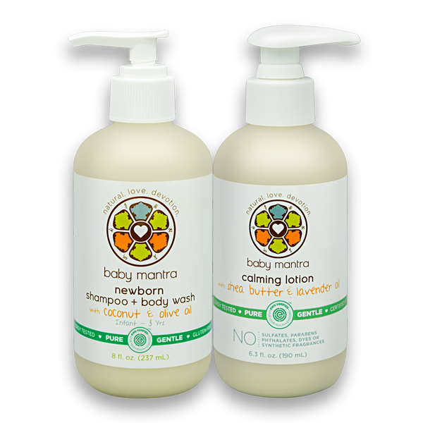 Shampoo & Wash and Calming Lotion Combo