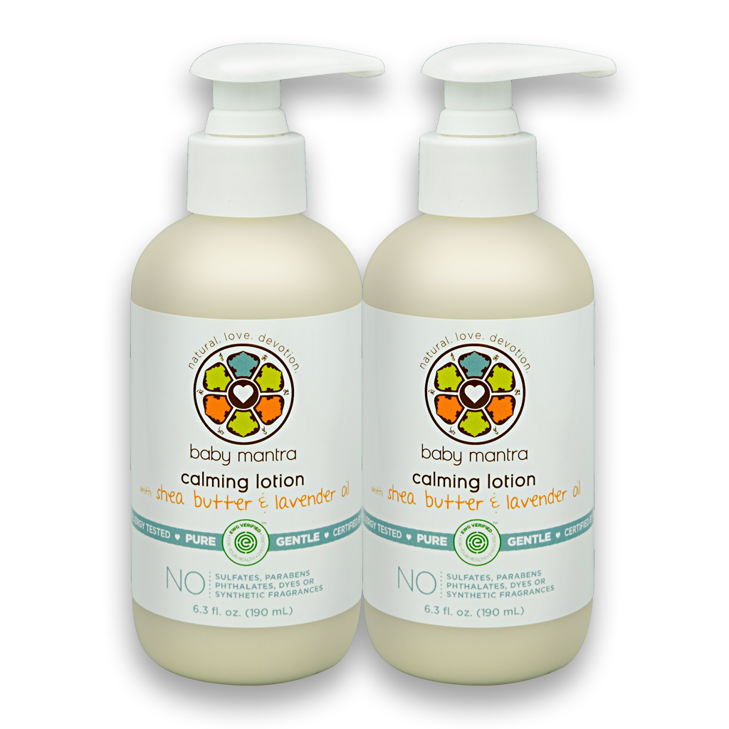 Baby Mantra Calming Lotion   2-Pack