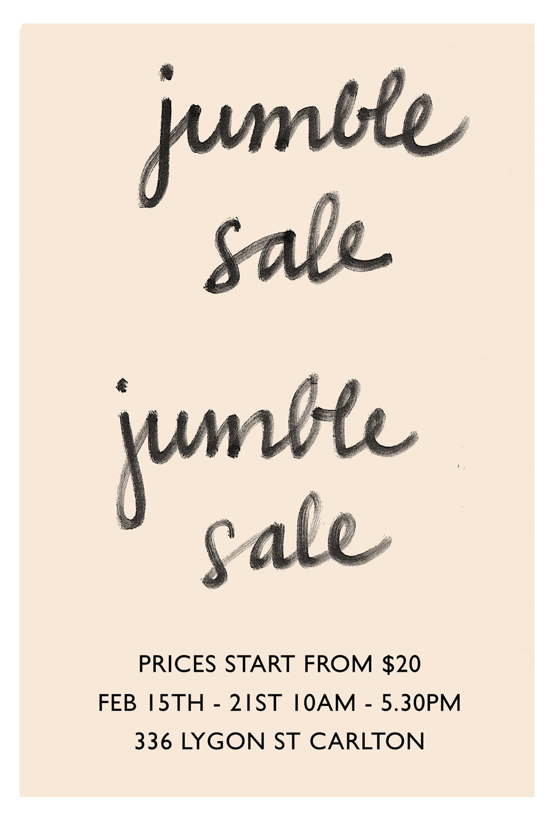 LM | Carlton Jumble Sale