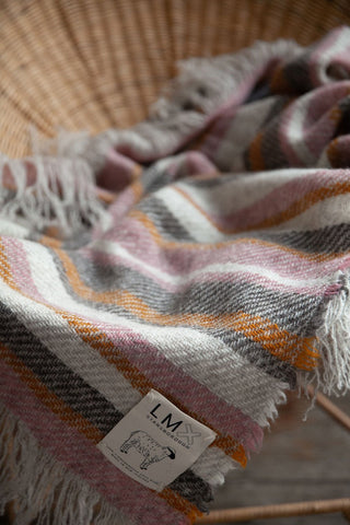Stansborough x LM Woven Wool Blanket