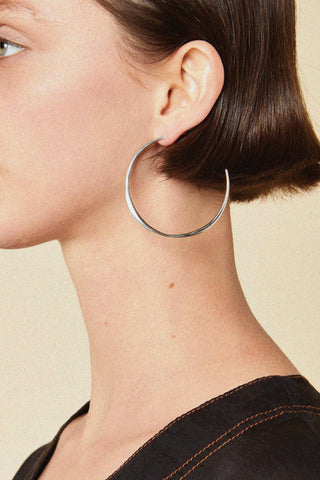 FARIS Medium Vero Hoop Earrings