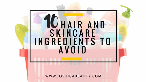 10 Harmful ingredients hiding in your skin and hair care products