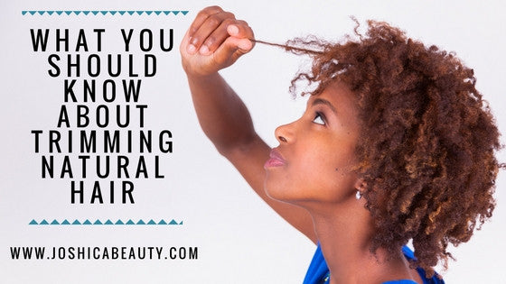 What you should know about trimming natural hair