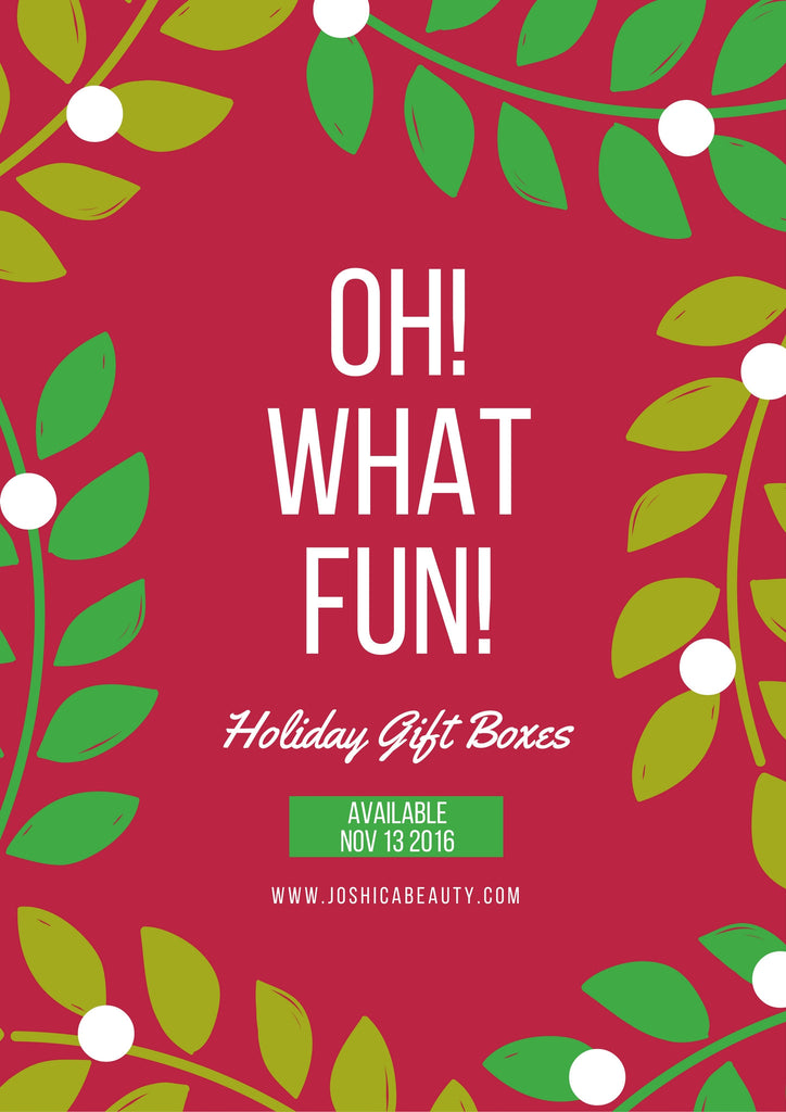 Holiday Gift Boxes and Gift Bags  Available Next Week!
