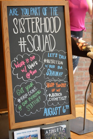 Sisterhood Squad Event lineup