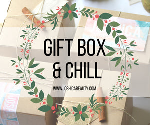holiday gift box gift box and chill joshica beauty