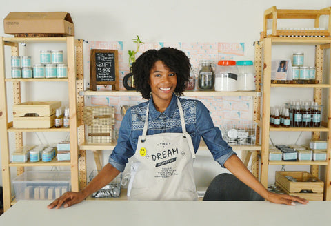 black woman owned small business natural hair