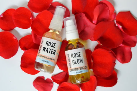 Rose Oil and Rose water