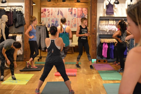 Athleta Workout with Joshica