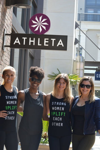 together we thrive athleta la