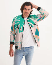 "Load image into Gallery viewer, ""Black"" Men's Bomber Jacket"