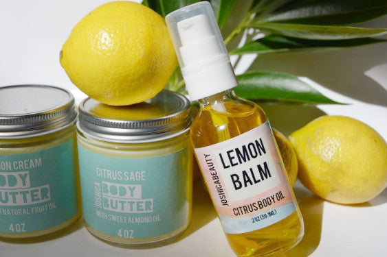 Lemon Balm Citrus Body Oil - JOSHICABEAUTY