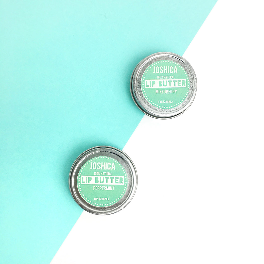 Peppermint Lip Butter - JOSHICABEAUTY