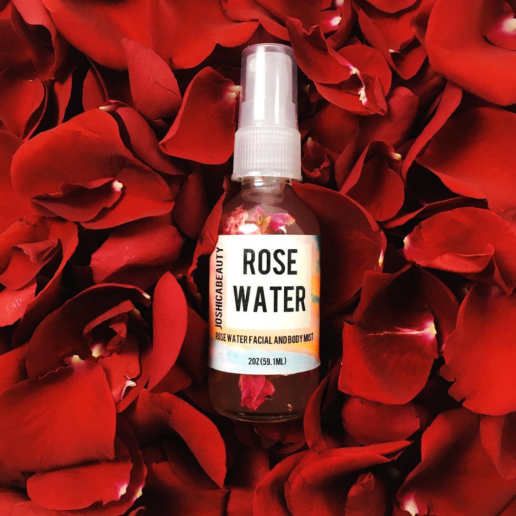 Rosewater Botanical Facial and Body Mist - JOSHICABEAUTY