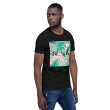"Load image into Gallery viewer, ""Black"" Short-Sleeve T-Shirt - JOSHICABEAUTY"