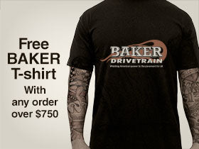 Free T-Shirt with orders over $750