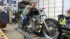 From the Vault: Scratch-Built mean green speed machine