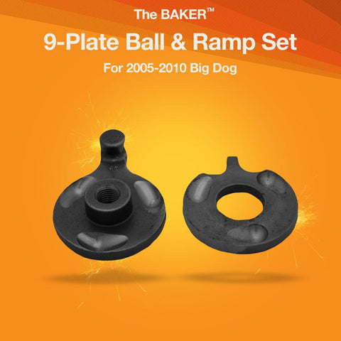 9-Plate Ball & Ramp Set for Big Dogs