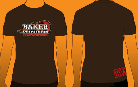 Brown Basic Logo T-Shirt