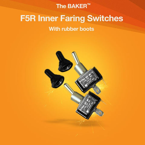 F5R Inner Faring Switches with Rubber Boots