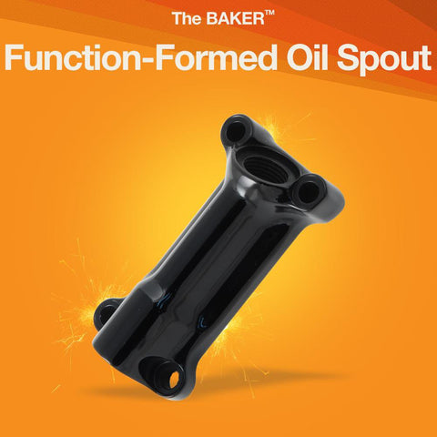 Function-Formed Oil Spout