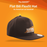 Flat Bill BAKER Flexfit Hat